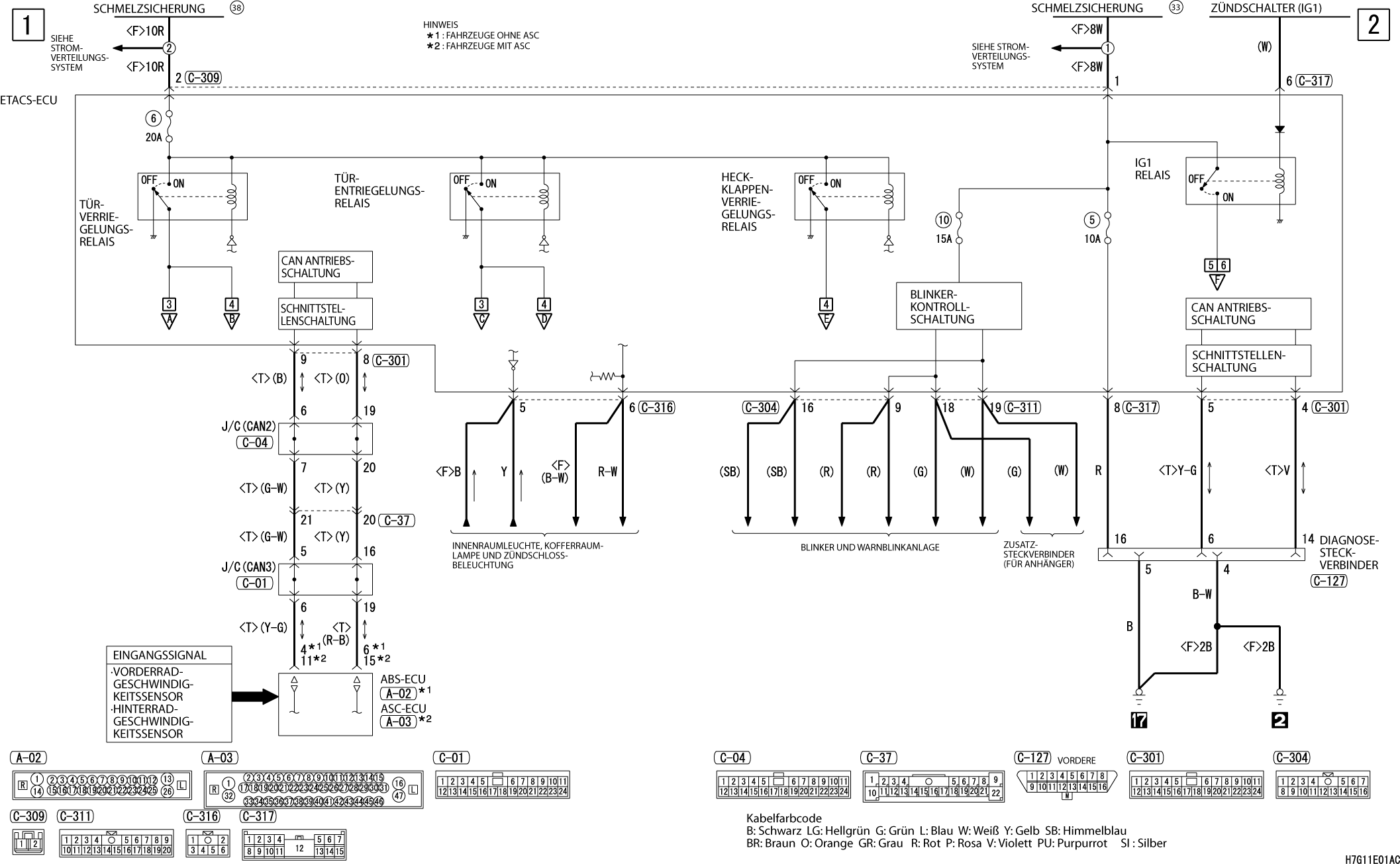 Groß Lpg Schaltplan Galerie - Schaltplan Serie Circuit Collection ...