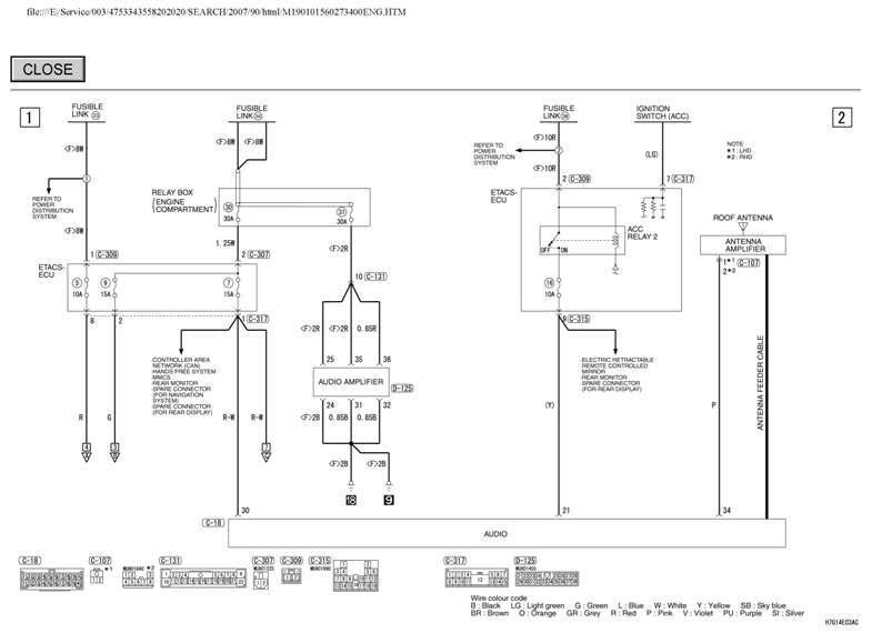 Niedlich Mitsubishi Radio Schaltplan Ideen - Der Schaltplan - greigo.com