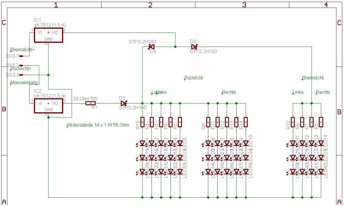 Outlander im Alltag - Self-Made - Aufbau von LED Rückleuchten